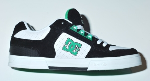 DC Kalis 07 white/black/emerald.