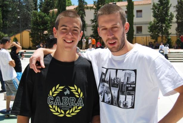 Adrián & Alvarito.