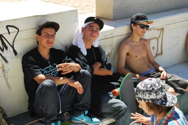 Hassen, Jura y Fernando Perez.