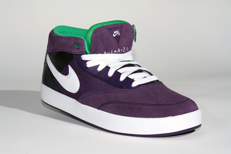 new concept 63cfa 4afe9 Nike SB Omar Salazar grand purple white-lucky green.
